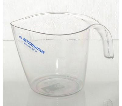 Кружка мерная пласт. С-116 1,0л