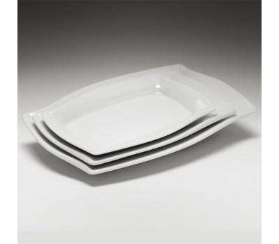 """Блюдо малое прямоугольное """"Волна"""" фк749"""