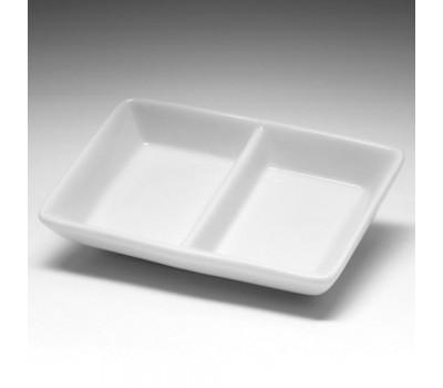 Блюдце мелкое прямоугольное для соуса фк742