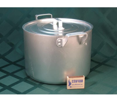 Кастрюля алюм. 6л (литая) 10-3М2к