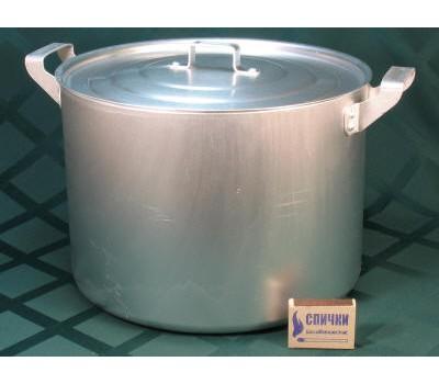 Кастрюля алюм. 10л (литая) 11-3М2к