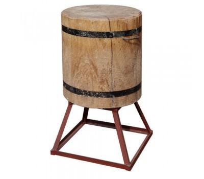 Колода на мет.подставке(подставка 30см, деревянная часть 50см) d-от 45 до 49см.