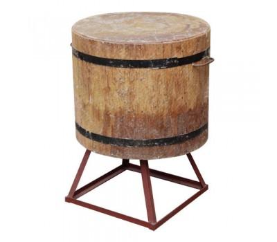 Колода на мет.подставке(подставка 30см, деревянная часть 50см) d-от 50 до 55см.