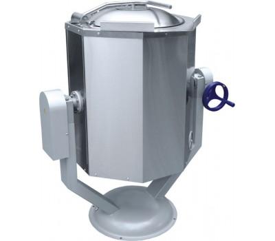 Котел пищеварочный КПЭМ 60 ОР (60л, ручное опрокидывание)