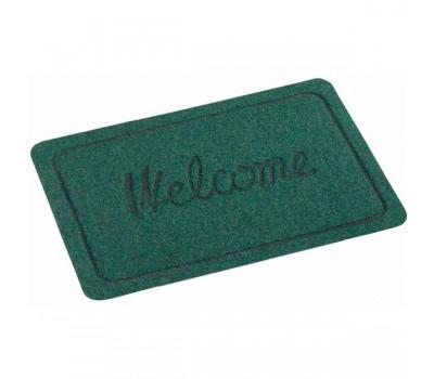 Коврик резиновый Welcome 40/60 652 зел.