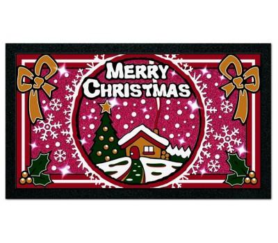 Коврик придв. 40х68см Format Glitter, арт. 21103 Рождество