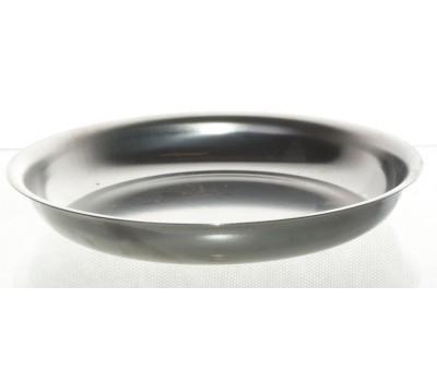 Тарелка мелкая мет.0,25л. 1с43