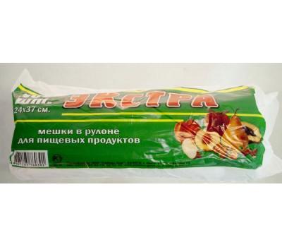 Пакет фасов 24*37 ПНД (6мкм) Экстра уп500