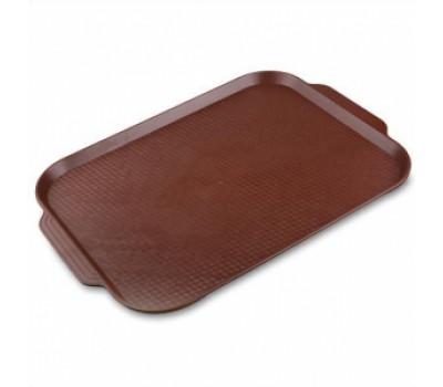 Поднос 1730 45*35,5 см. темно-коричневый (167)MG
