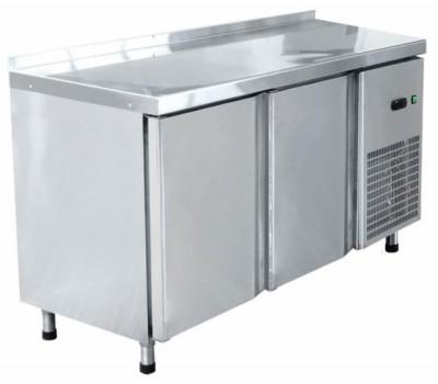 Стол холодильный СХС-60-01, 2-х дверный,среднетемпературный 1500*600*860мм