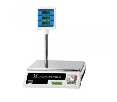 Весы торговые электронные МЕХЭЛЕКТРОН-М-ВР 4900-15-5Сдб-05 (до 15 кг)